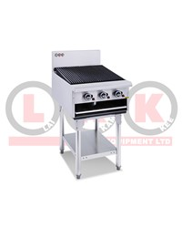 LKK 3 BURNER 600mm GAS CHARGRILL WITH LEGS