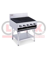LKK 5 BURNER 900mm CHARGRILL WITH LEGS