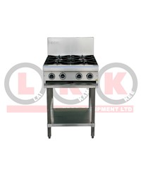 4 GAS OPEN BURNERS WITH LEGS