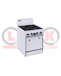 4 GAS OPEN BURNER COOKTOP + STANDARD OVEN
